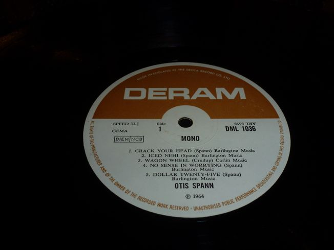 Otis Spann ‎– Cracked Spanner Head - Vinyl, LP
