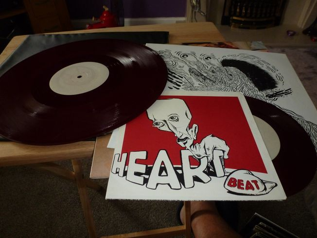Big Black ‎– Headache / Heartbeat  Label: Blast First ‎– T&G#20 / T&G#21