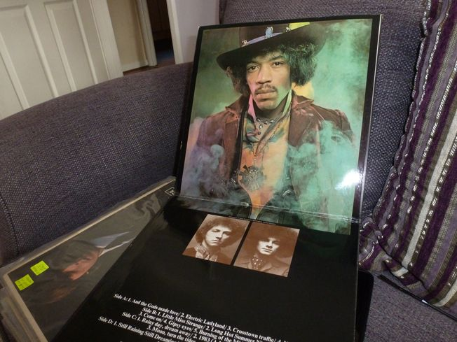 The Jimi Hendrix Experience ‎– Electric Ladyland  Label: Track Record ‎– 613008/9