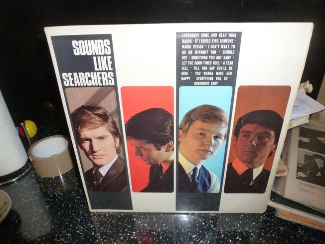 Searchers  ‎– Sounds Like Searchers  Label: Pye Records ‎– NPL 18111, Pye