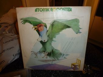 Atomic Rooster ‎– Atomic  Rooster  Label: B & C Records ‎– CAS 1010