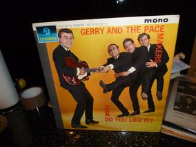 Gerry And Pacemakers* ‎– How Do You Like  It?  Label:  Columbia ‎– 33SX 1546