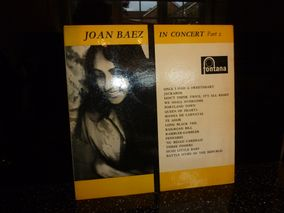 Joan Baez ‎– In Concert Part 2 Vanguard ‎– VRS-9113 - Vinyl, LP, Album, Mono