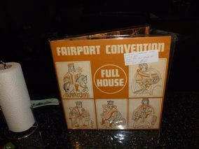 Fairport Convention ‎– Full House Island Records ‎– ILPS 9130