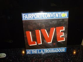 Fairport Convention ‎– Live At The L.A. Troubadour Island Records ‎– HELP 28 Vinyl, LP