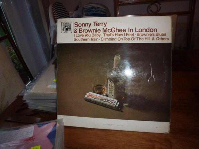 Sonny Terry &  Brownie McGhee ‎– In London  Label: Marble Arch Records  ‎– MALS 843