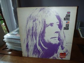 John Mayall ‎– USA  Union  Label: Polydor ‎– 2425-020