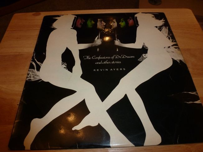Kevin Ayers ‎– The Confessions  Of Dr. Dream And Other Stories  Label: Island Records ‎– ILPS 9263