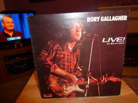 Rory Gallagher ‎– Live! In Europe Label: Polydor ‎– 2383 112