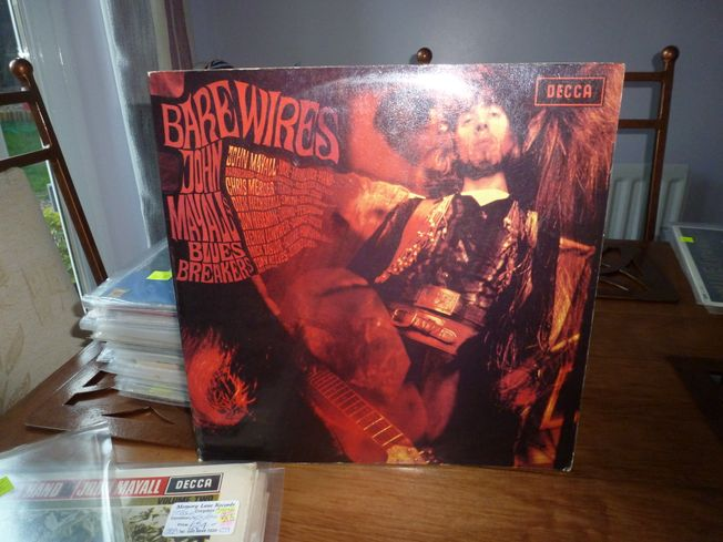 John Mayall's Bluesbreakers ‎– Bare Wires  Label: Decca ‎– LK.4945