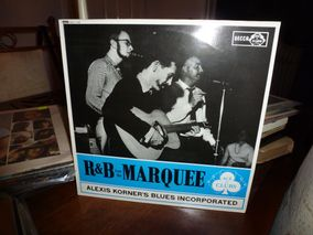 Alexis Korner's Blues Incorporated* ‎– R & B From the  Marquee  Label: Ace Of Clubs ‎– ACL  1130