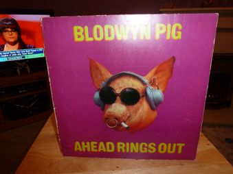 Blodwyn Pig ‎– Ahead Rings  Out  Label: Island Records ‎– ILPS-9101