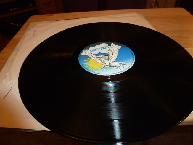 Atomic Rooster ‎– In Hearing  Of  Label: Pegasus  ‎– PEG-1