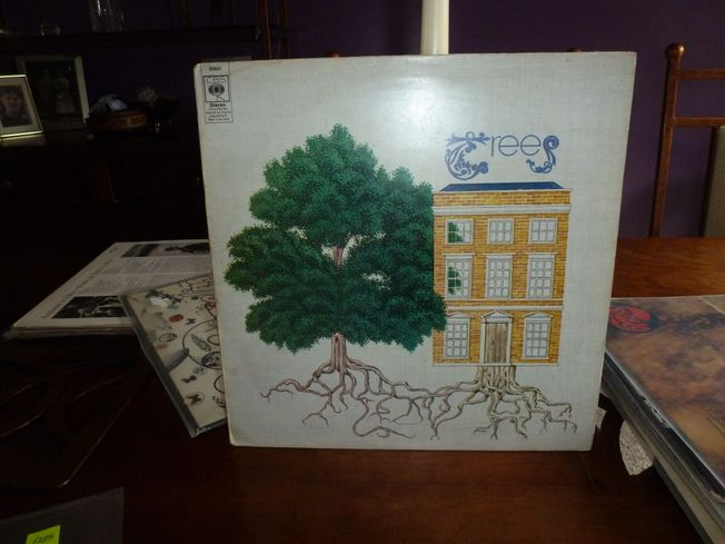 Trees-The Garden Of Jane Delawney Original UK Vinyl