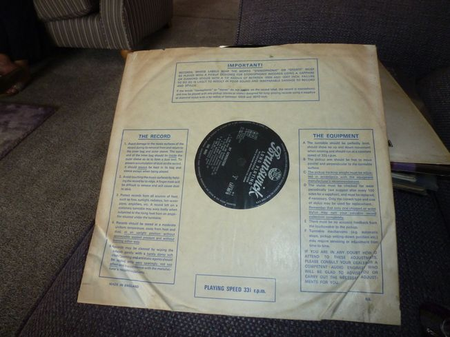 The Who ‎– My Generation Label: Brunswick ‎– LAT 8616