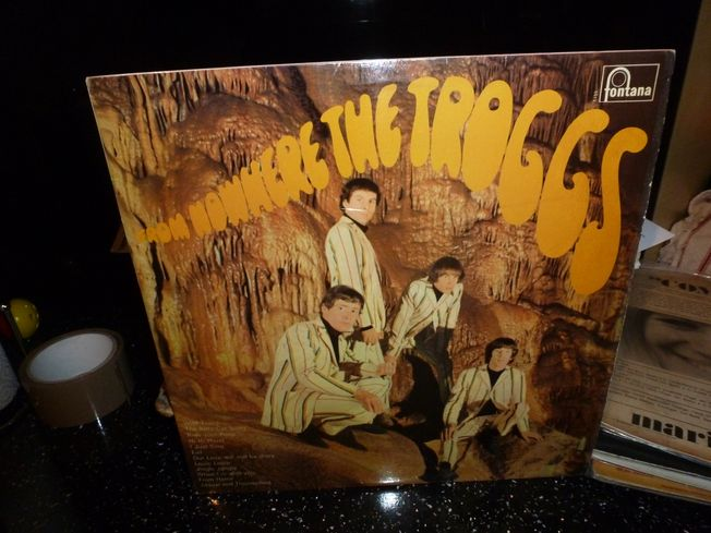 Troggs  ‎– From Nowhere  Label: Fontana ‎– TL 5355,
