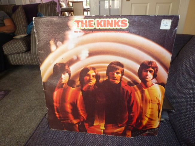 Kinks ‎–  The Kinks Are The Village Green Preservation Society  Label: Pye Records ‎– NPL 18233, Pye