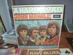 John Mayall And Bluesbreakers* ‎– A Hard Road  Label: Decca ‎– SKL 4853